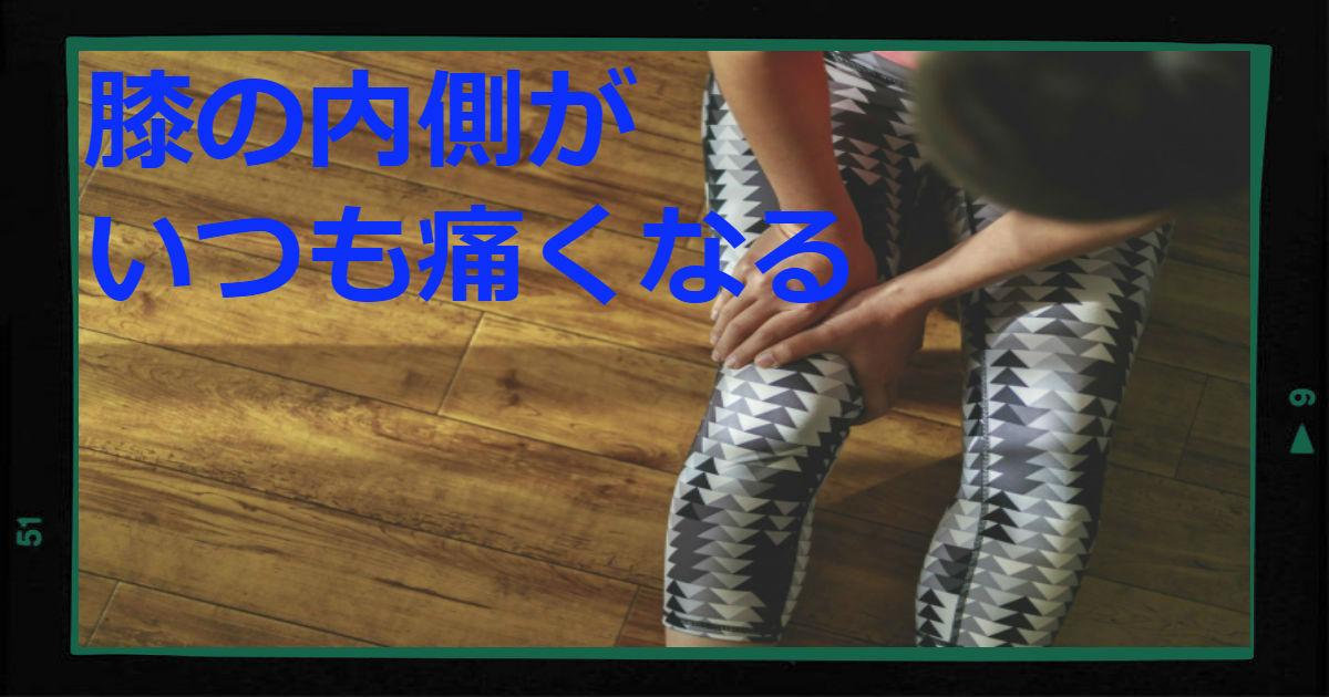 膝の痛み 内側